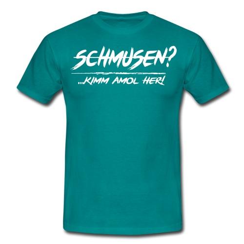 schmusen spotted2 - Männer T-Shirt