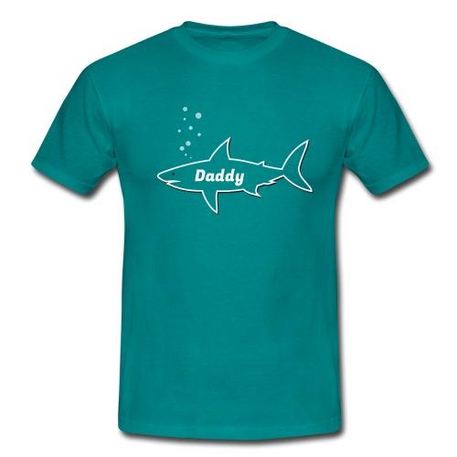 Daddy shark - matching outfit fathersday gift - Männer T-Shirt
