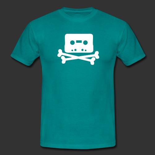 kassett svart - T-shirt herr