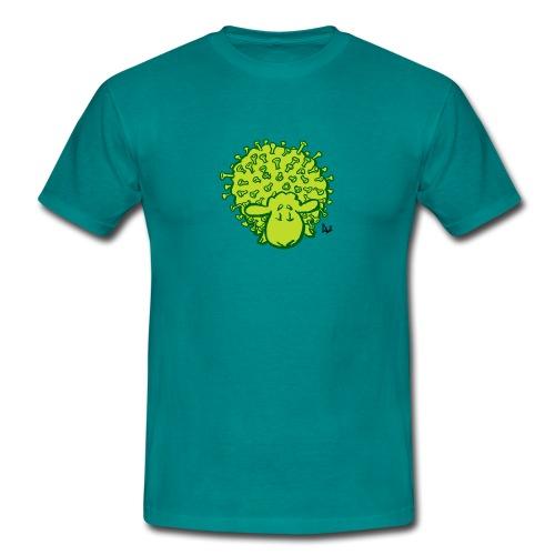 Virus sheep - Men's T-Shirt