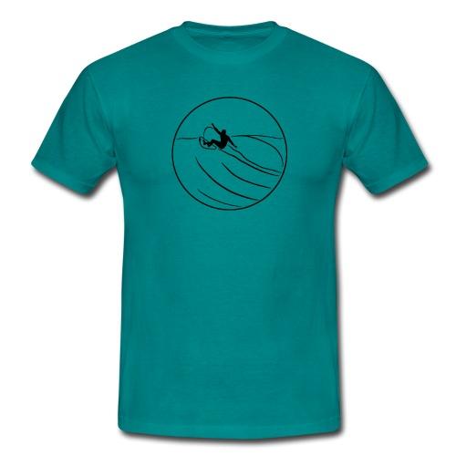 Surfer2 auf Welle Nr.1 - Männer T-Shirt