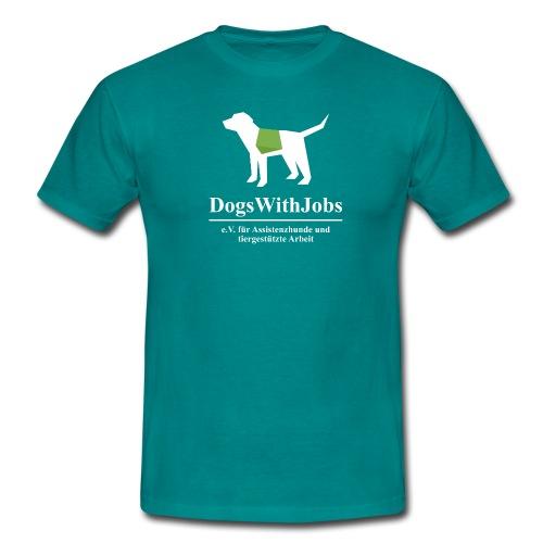 dwj weiss2 png - Männer T-Shirt