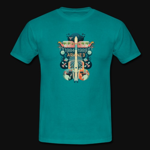 Ariane 3 - Dream of the Moon - Men's T-Shirt