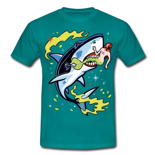 Requin mangeur de sirène - T-shirt Homme