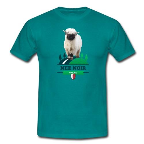 Mouton du Valais - Nez noir - Männer T-Shirt