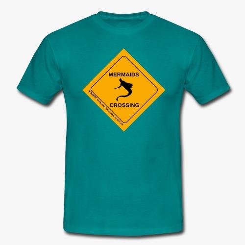 Mermaids Crossing - Männer T-Shirt