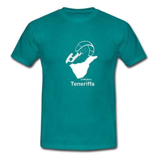 Kitesurfer Teneriffa - Männer T-Shirt