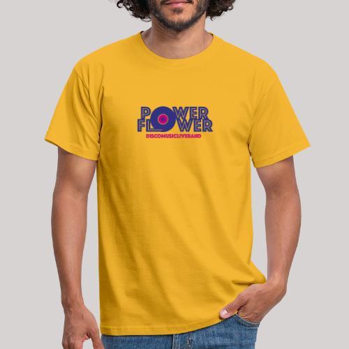 Logo PowerFlower colori - Maglietta da uomo