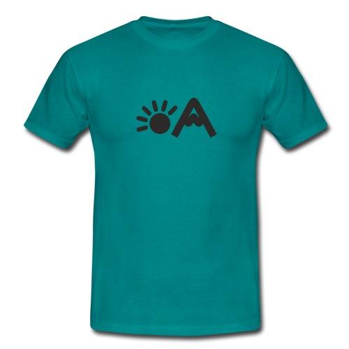 vekigo logo negro minimal - Camiseta hombre