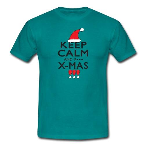 Keep calm XMAS - Männer T-Shirt