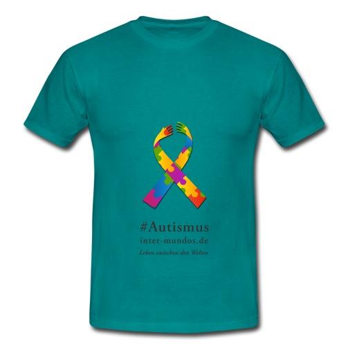 Inter-Mundos Autismus-Schleife - Männer T-Shirt