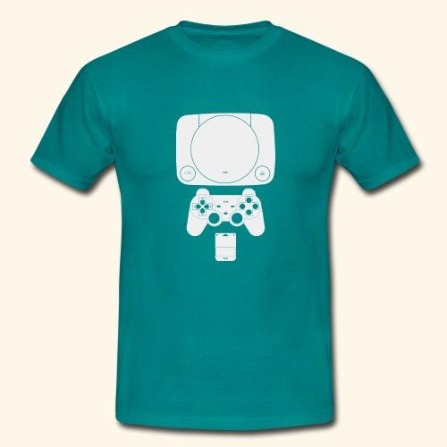 PS ONE Classic Console Design - Men's T-Shirt