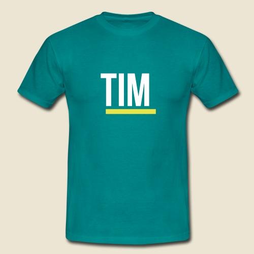 TIM-Logo-negativ - Männer T-Shirt