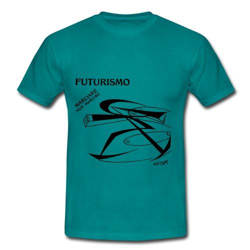 FUTURISMO (marciare non marcire) - Maglietta da uomo