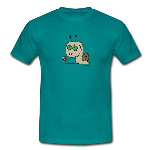 Schnecky - Männer T-Shirt