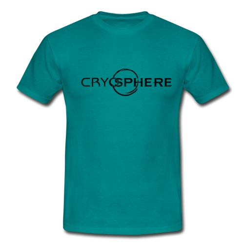 CRYOSPHERE LOGO BLACK - Herre-T-shirt