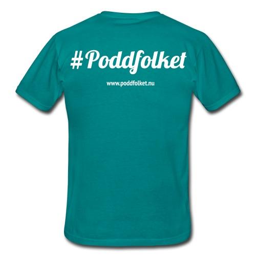 poddfolket - T-shirt herr