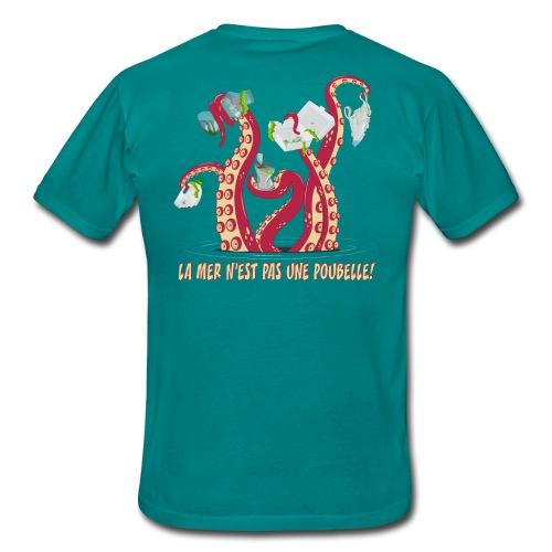 La mer n'est pas une poubelle! - T-shirt Homme