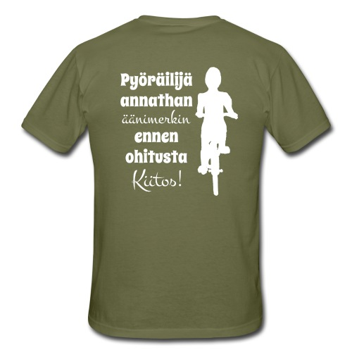 Äänimerkki ennen ohitusta, kiitos - Miesten t-paita