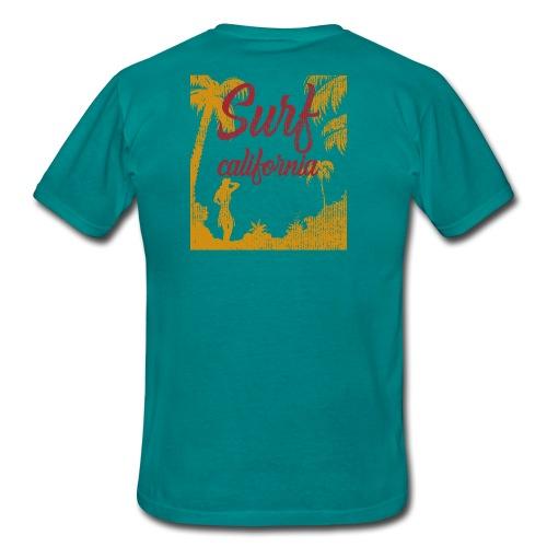 SURF CALIFORNIA - Maglietta da uomo