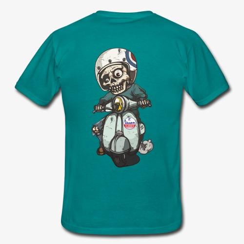 Skullterist - Solo Big Print - Männer T-Shirt