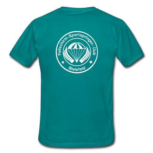 FSC Logo weiß gif - Männer T-Shirt