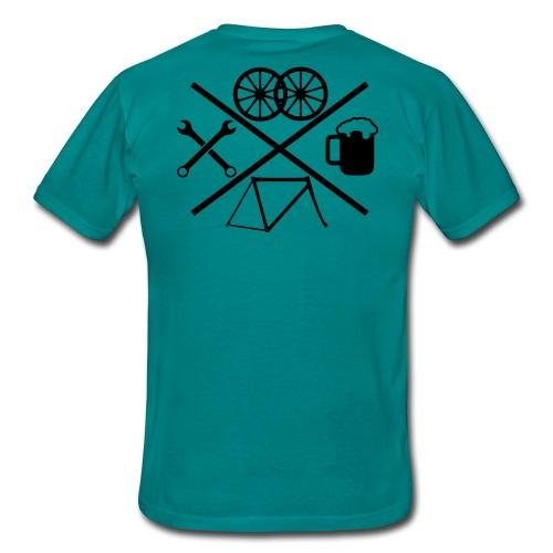 Cross Bike - Männer T-Shirt