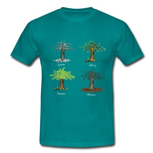 four seasons - Männer T-Shirt