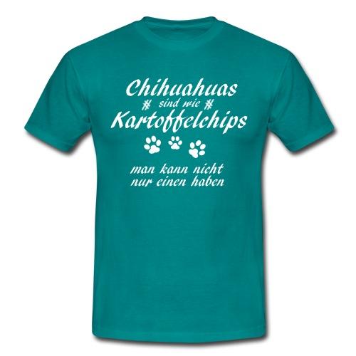 KartoffelchipsChihuahua - Männer T-Shirt