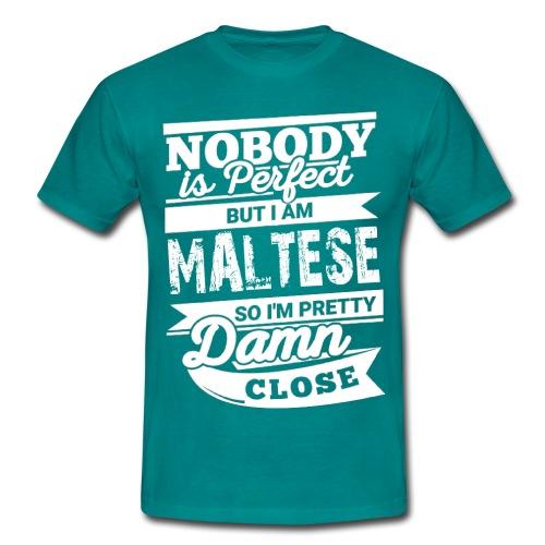 maltese - T-shirt herr
