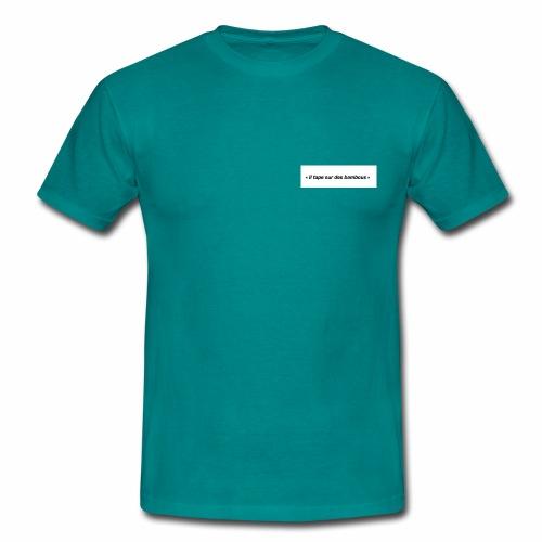 Il tape sur des bambous - T-shirt Homme