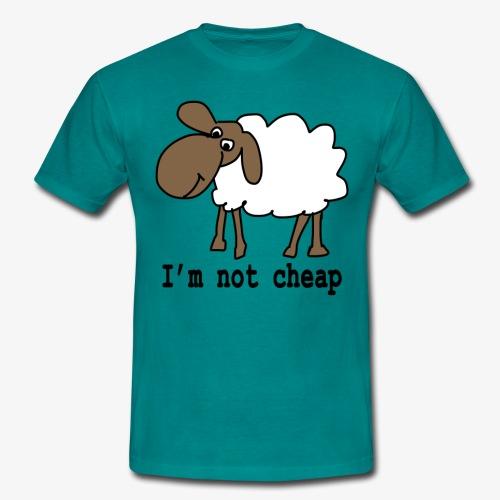 I am not cheap - Men's T-Shirt