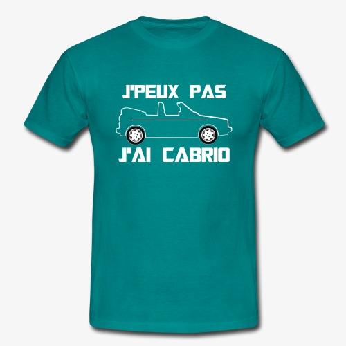 J'peux pas, J'ai Cabrio (blanc) - T-shirt Homme