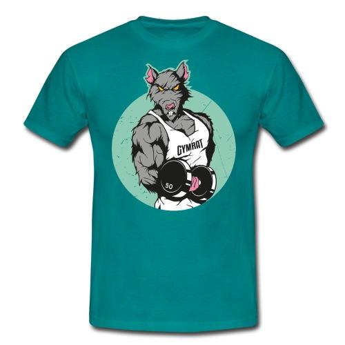 GYM RAT old Ed. - Männer T-Shirt