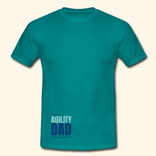 Super Agility Dad - Miesten t-paita