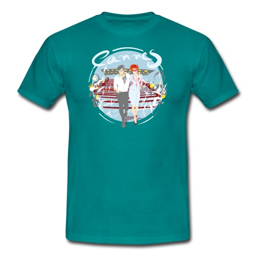 Ville Cannes by Strob - T-shirt Homme