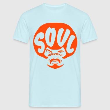 Soul music flex - Männer T-Shirt