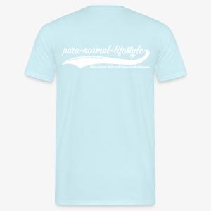 PNL Querschnittlähmung hinten (Aufdruck weiß) - Männer T-Shirt