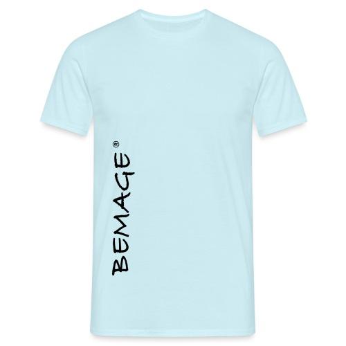 Bemage nur Schrift neu groß png - Männer T-Shirt