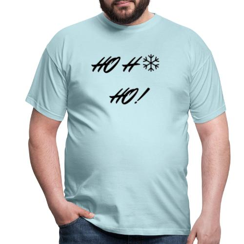 ho ho ho black - T-shirt Homme