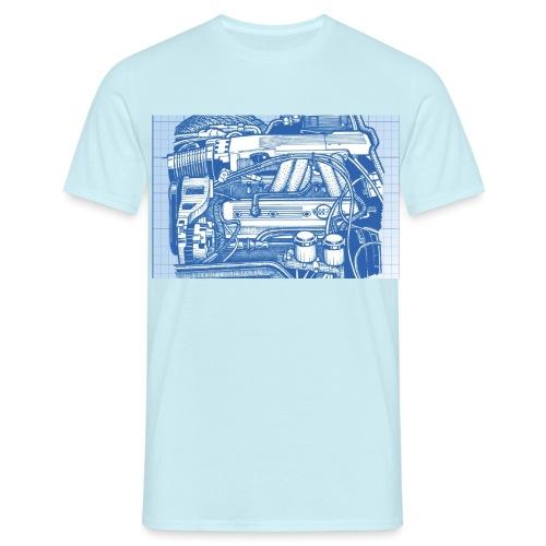 L98 Engine - T-shirt herr