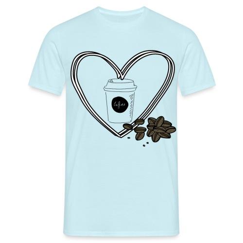 I love Coffee - Männer T-Shirt