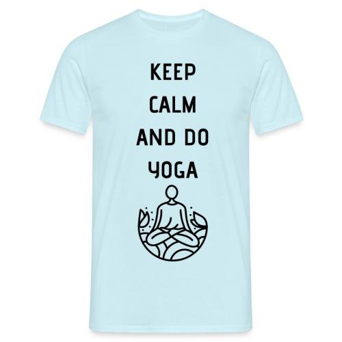 Yoga - Maglietta da uomo