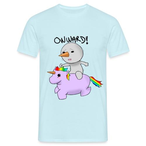 ONWARD! - T-skjorte for menn