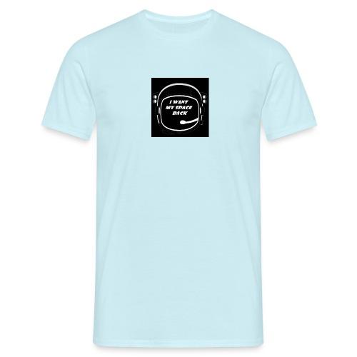 SPACE BLACK - Maglietta da uomo