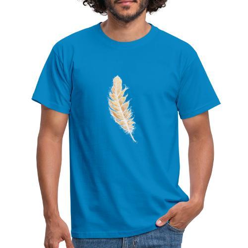 EngelFeder der LiebesFülle - Männer T-Shirt
