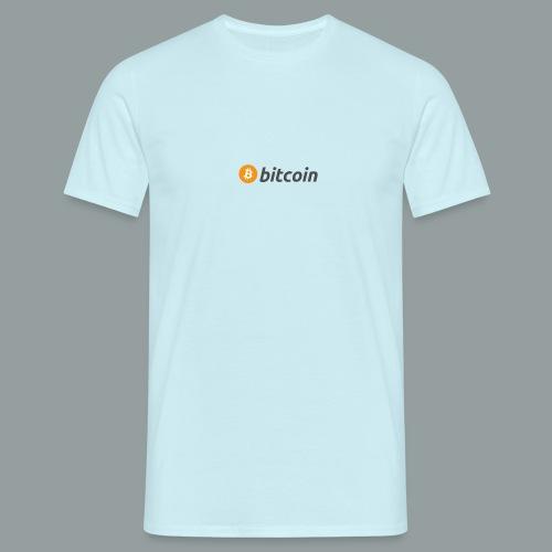 Bitcoin Logo #BTC - Camiseta hombre