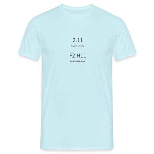anneniellevte - T-skjorte for menn