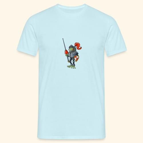 Sir Lance-a-frog Mascot - Men's T-Shirt