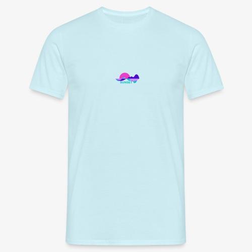 sunset - T-shirt Homme